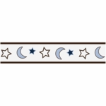Sweet JoJo Designs Starry Night Wallpaper Border