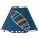 Sweet JoJo Designs Surf Blue & Brown Lamp Shade