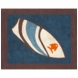 Sweet JoJo Designs Surf Blue & Brown Rug