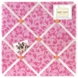 Sweet JoJo Designs Surf Pink & Orange Fabric Memo Board