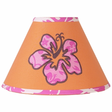Sweet JoJo Designs Surf Pink & Orange Lamp Shade