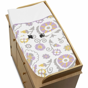 Sweet JoJo Designs Suzanna Changing Pad Cover