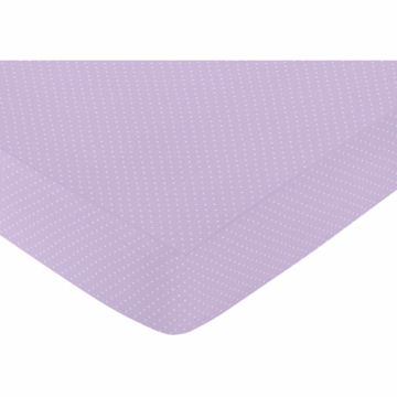 Sweet JoJo Designs Suzanna Crib Sheet - Mini Dot
