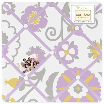 Sweet JoJo Designs Suzanna Fabric Memo Board