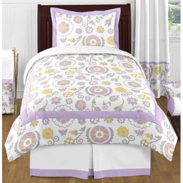 Sweet JoJo Designs Suzanna Twin Bedding Set