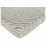 Sweet JoJo Designs Toile Crib Sheet in Gingham Print