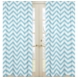 Sweet JoJo Designs Turquoise & White Chevron Window Panels - Set of 2