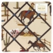 Sweet JoJo Designs Wild West Cowboy Fabric Memo Board - Cowboy