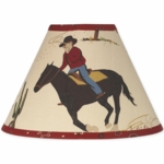 Sweet JoJo Designs Wild West Cowboy Lamp Shade