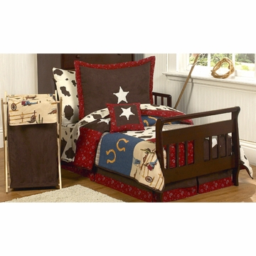 Sweet JoJo Designs Wild West Cowboy Toddler Bedding Set