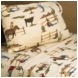 Sweet JoJo Designs Wild West Cowboy Twin Sheet Set - Horse Print