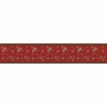 Sweet JoJo Designs Wild West Cowboy Wallpaper Border - Bandana Print