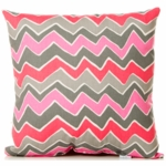 Sweet Potato Addison Throw Pillow in Zig Zag Stripe