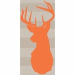 Sweet Potato Echo Buck Wall Decal
