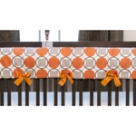 Sweet Potato Echo Convertible Crib Rail Protector - Short Set