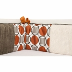 Sweet Potato Echo Crib Bumper