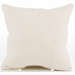 Sweet Potato Echo Throw Pillow - Cream Texture