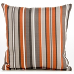 Sweet Potato Echo Throw Pillow - Stripe