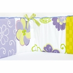 Sweet Potato LuLu Crib Bumper