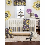 Sweet Potato Melrose 3 Piece Crib Bedding Set
