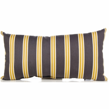 Sweet Potato Melrose Rectangular Pillow - Stripe