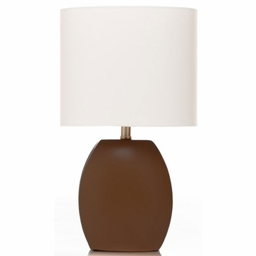 Sweet Potato Table Lamp - Brown