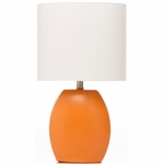Sweet Potato Table Lamp - Orange