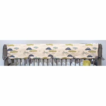 Sweet Potato Uptown Traffic Convertible Crib Rail Protector - Long