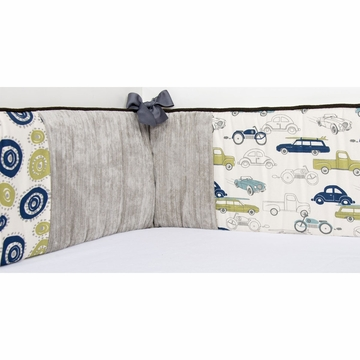 Sweet Potato Uptown Traffic Crib Bumper