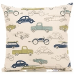 Sweet Potato Uptown Traffic Pillow - Cars