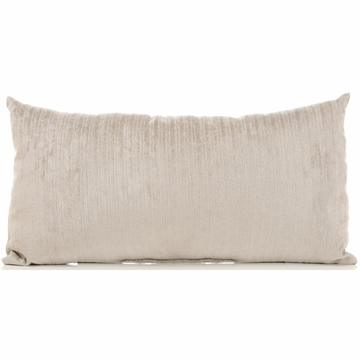 Sweet Potato Uptown Traffic Rectangular Pillow - Gray Velvet