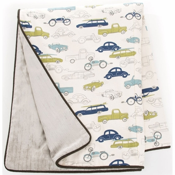 Sweet Potato Uptown Traffic Twin Duvet Cover