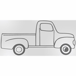 Sweet Potato Uptown Traffic Wall Decal - Truck