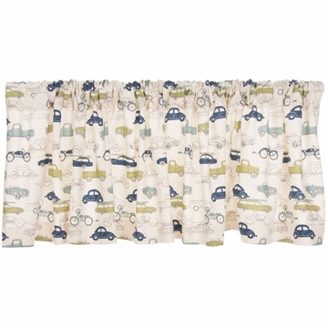 Sweet Potato Uptown Traffic Window Valance