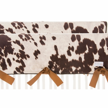 Sweet Potato Urban Cowboy Convertible Crib Rail Protector - Short Set
