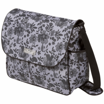 The Bumble Collection Amber Diaper Bag - Lace Floral