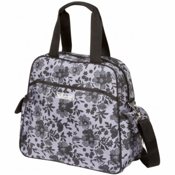 The Bumble Collection Brittany Diaper Bag - Lace Floral