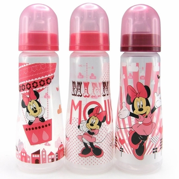 The First Years 8 oz Slim Bottles, 3pk - Minnie