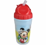 The First Years 9 oz Insulated Straw Cup - Mickey Mouse Clubhouse