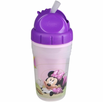 The First Years 9 oz Insulated Straw Cup - Minnie Mouse Clubhouse
