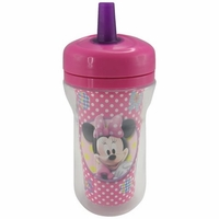 The First Years 9 oz Insulated Straw Cup - Minnie Mouse