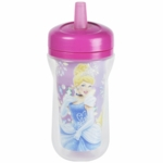 The First Years 9 oz Insulated Straw Cup - Princess