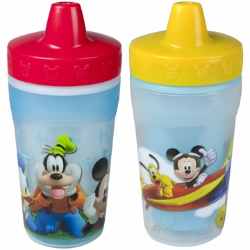 The First Years 9 oz Sippy Cups 2 PK - Mickey Mouse