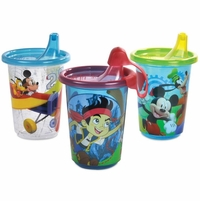 The First Years Disney Characters (Boy) Take & Toss 10oz Sippy Cups - 3 Pack