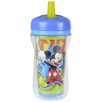 The First Years Disney Mickey Mouse Insulated 9oz. Straw Cup