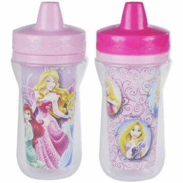 The First Years Disney Princess Insulated 9oz. Sippy Cups - 2 Pack