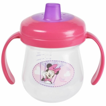 The First Years Minnie Mouse Soft Spout Trainer Cup, 7 oz.