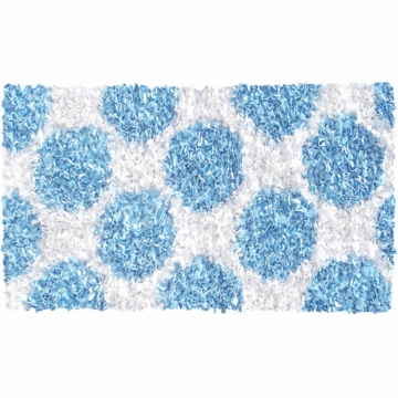 The Rug Market Polkamania Rug - Blue & White