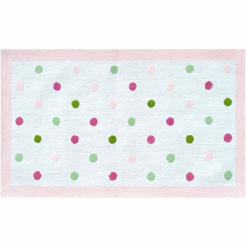 The Rug Market Rug - Dots Pink