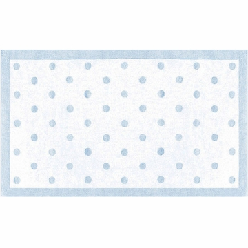 The Rug Market Rug - Polka Dots in Light Blue